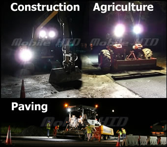 Ag / Construction / Paving Lights