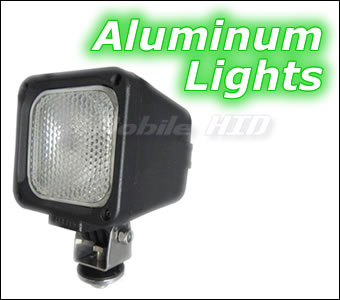 Aluminum Housing HID Lights