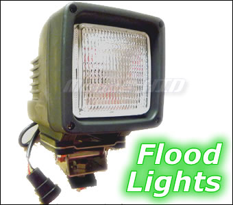 Flood Pattern HID Work Lights