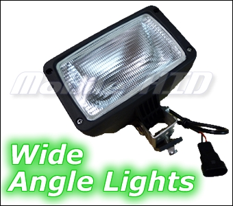 Wide Angle HID Work Lights