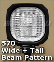 570 Wide + Tall HID for 12v and 24v