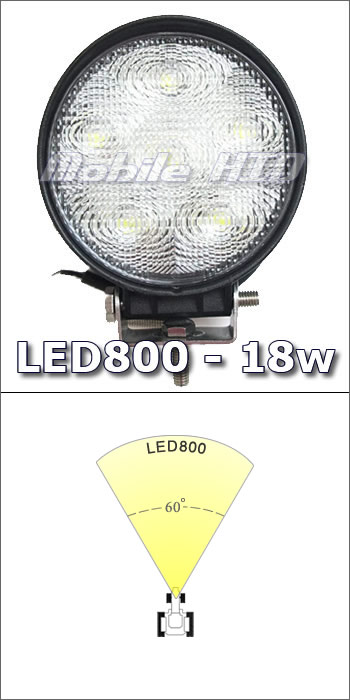 "4"" LED 18w Work Light"