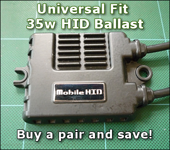 Two 35w Ballast (universal fit)